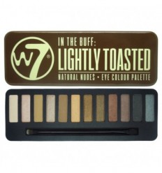 W7 LIGHTLY TOASTED IN THE BUFF PALETA 12 SOMBRAS DE OJO
