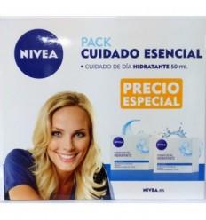 NIVEA PACK CUIDADO ESENCIAL DUPLO CREMA DIA HIDRATANTE PIEL NORMAL 50 ML