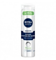 NIVEA MEN SENSITIVE ESPUMA DE AFEITAR 0% ALCOHOL 200 + 50 ML