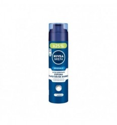 NIVEA MEN ORIGINALS ESPUMA DE AFEITAR EXTRA HIDRATANTE 200 + 50 ML