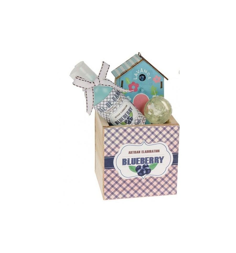La casa de los aromas cesta madera blueberry gel jab n - Casa de los aromas ...