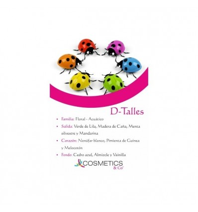 D-TALLES EDT 100ML MUJER