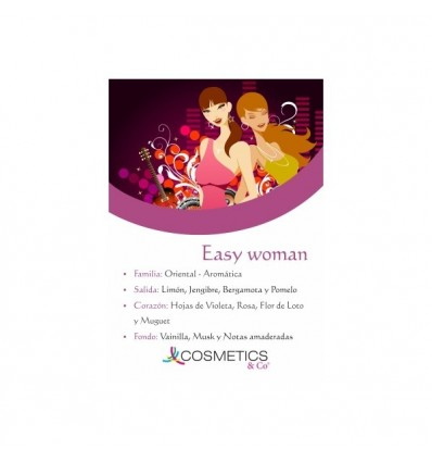 EASY WOMAN EDT 100ML MUJER