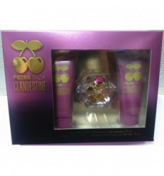 PACHA IBIZA CLANDESTINE WOMAN EDT 80ML VP + BODY 75ML+ GEL&CHAMPÚ 75ML