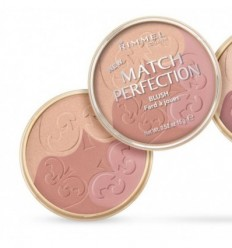 RIMMEL MATCH PERFECTION BLUSH 002 LIGHT/MEDIUM COLORETE