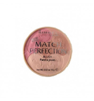 RIMMEL MATCH PERFECTION BLUSH 001 LIGHT COLORETE