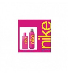 NIKE PINK WOMAN EDT 100ML + DEO SPRAY 200 ML