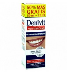 DENIVIT ANTI-MANCHAS INTENSIVO 50 + 25 ML