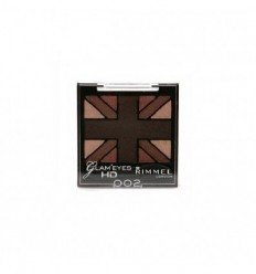 RIMMEL GLAM EYES HD QUAD SOMBRAS DE OJOS 002 ENGLISH OAK