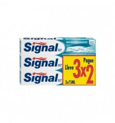 SIGNAL MICROGRÁNULOS PASTA DENTAL 3X75 ML