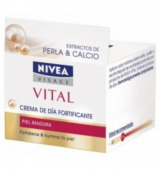 NIVEA VITAL PERLA&CALCIO CREMA DE DÍA FORTIFICANTE P MADURA 50ML