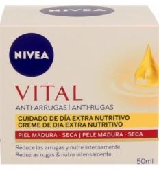 NIVEA VITAL ANTI-ARRUGAS CREMA DÍA EXTRA NUTRITIVA P MADURA SECA 50 ML