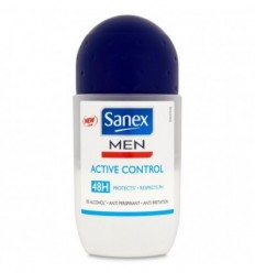 SANEX MEN ACTIVE CONTROL 48H DEO ROLLON 50 ML