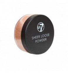 W7 SHEER LOOSE POWDER POLVOS SUELTOS IVORY 20G