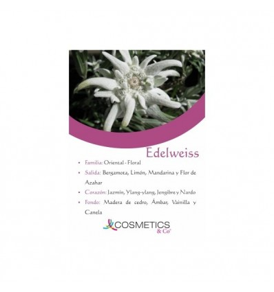 EDELWEISS EDT 100ML MUJER