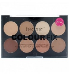 TECHNIC COLOUR FIX CREAM FOUNDATION CONTOUR PALETTE 8 X 3,5 GR