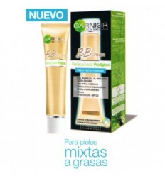 GARNIER BB CREAM PIEL MIXTA A GRASA TOQUE DE COLOR MEDIO 40 ML