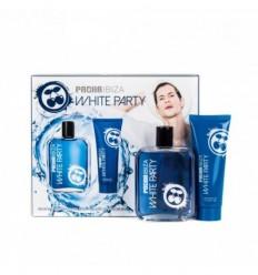 PACHA IBIZA WHITE PARTY MEN EDT 100 ml SPRAY + GEL&CHAMPÚ 75ML