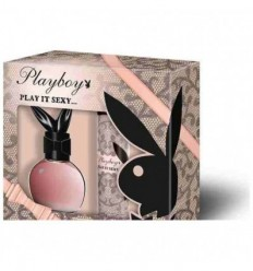 PLAYBOY PLAY IT SEXY EDT 75 ML SPRAY + DEO PARFUM 75ML SPRAY WOMAN