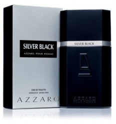 AZZARO SILVER BLACK POUR HOMME EDT 100 ML SPRAY