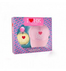GUYLOND I LOVE HK EDT 50 ML WOMAN + GORRA