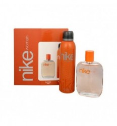 NIKE WOMAN EDT 100 ML SPRAY +DEO SPRAY 200 ML