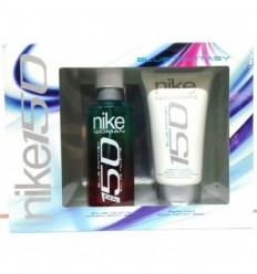 NIKE WOMAN BLUE FANTASY EDT 150 ml SPRAY + BODY LOTION 150 ml