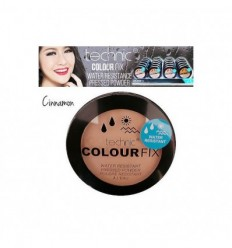TECHNIC COLOUR FIX POLVO COMPACTO WATERPROOF CINNAMON