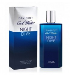 DAVIDOFF COOL WATER NIGHT DIVE MEN EDT 125 ML SPRAY