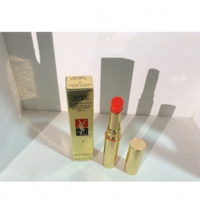 YSL Gloss Volupte nº7 Orange acidulée Tangy Orange SPF 9