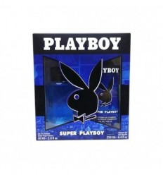 PLAYBOY SUPER PLAYBOY EDT 60 ml SPRAY + GEL 150 ml FOR MEN