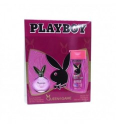 PLAYBOY QUEEN OF THE GAME EDT 60 ML SPRAY + GEL 150 ML WOMAN
