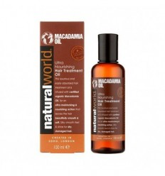 NATURAL WORLD MACADAMIA OIL 100 ML
