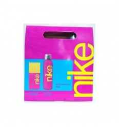 NIKE PINK WOMAN EDT 50 ML SPRAY + DEO SPRAY 200 ML