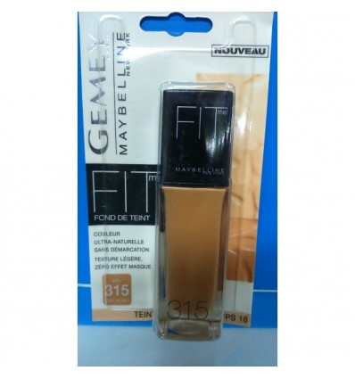 Maybelline Fit Me maquillaje 315 Soft Honey 30ml