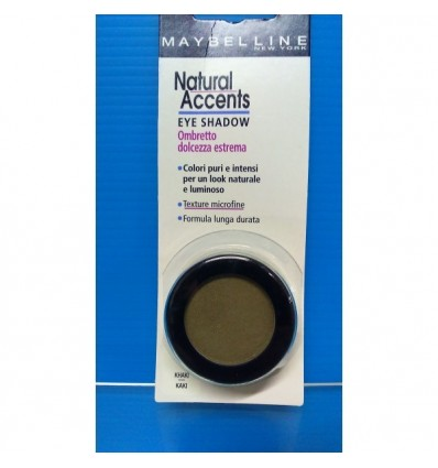 Maybelline Natural Accents sombra ojos Kaki