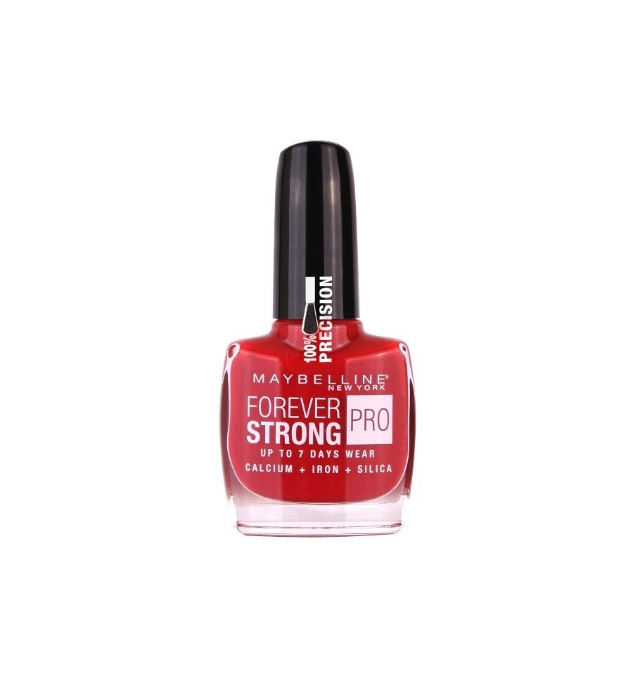 MAYBELLINE FOREVER STONG PRO ESMALTE DE UÑAS 505 FOREVER RED 10 ML ...
