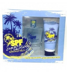 SPRINGFIELD SUMMER EMOTIONS EDT 50 ml SPRAY + AFTER SHAVE 100 ML FOR MEN