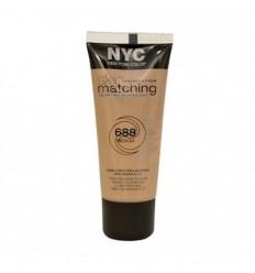 NYC SKIN MATCHING MAQUILLAJE FLUIDO 688 MEDIUM 30 ML