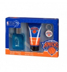 NBA NEW YORK KNICKS EDT 100 ml SPRAY + GEL 150 ml + LLAVERO MEN