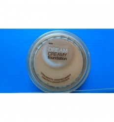Maybelline Dream Creamy Foundation Maquillaje hidratante 21 Nude 14g
