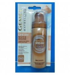 MAYBELLINE DREAM NUDE MOUSSE MAQUILLAJE 60 CARAMEL50 ML