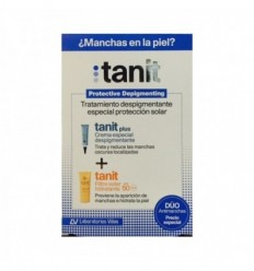 TANIT PACK TANIT PLUS DESPIGMENTANTE 15 ML + TANIT FILTRO SOLAR SPF 50 50 ML