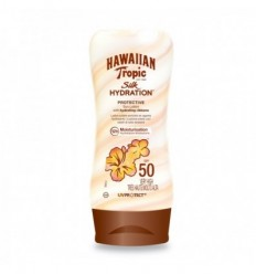 HAWAIIAN TROPIC SILK HYDRATION LECHE SOLAR SPF 50 180 ML