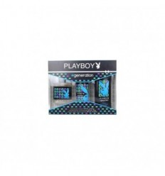 PLAYBOY GENERATION EDT 100 ml SPRAY + DEO SPRAY 150 ml + GEL 250 ml MEN