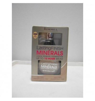 Rimmel Lasting Finish Minerals Powder Foundation 12h N 200 soft beige