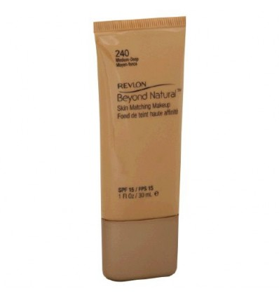 Revlon Beyond Natural Fondo de Maquillaje 240 Medium-Deep