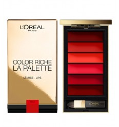 L´OREAL PALETTE LIPS RED GOES FATALE
