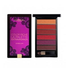 L´OREAL PALETTE LIPS STRAVAGANZA GOES FATALE
