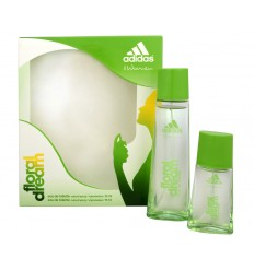 ADIDAS FLORAL DREAM FOR WOMEN EDT 75 ML SPRAY + EDT 30 ML SPRAY